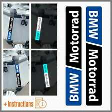 2x Rifrangenti Nero Blu BMW Motorrad F 650 700 800 R 1150 1200 1250 GS A