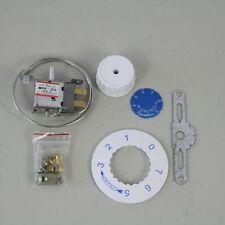 Wpf-20 Universal Thermostat 2-pins Kit Freezer Refrigerator with Bracket Dial
