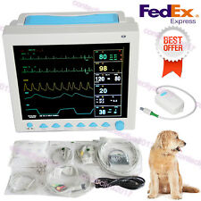 CMS8000 VET Veterinary Portable Patient Monitor Capnograph ETCO2,7 Parameters,US