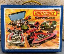 Matchbox Carry Case - Holds 48 - 1976 Lesney Four Trays Insert Card Vintage