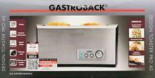 Gastroback Design Pro 4S 1500W Toaster - Silber (42398)