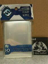 63.5mm x 88mm Standard CLEAR Card Game Sleeves Fantasy Flight Grey Pack FFS05