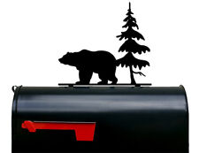 Bear and Tree Mailbox Topper / Plaque / Sign - Made in USA