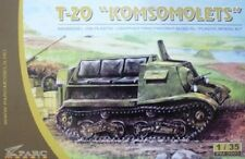 """1/35 T-20 """"Komsomolets"""" Parc model kit 3503"""