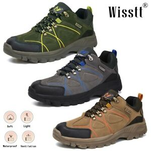 Men's Waterproof Hiking Shoes Sport Shoes Lightweight Outdoor Trails Ankle Boots