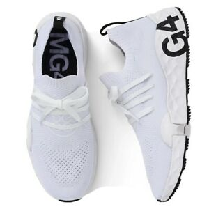 NEW G/Fore Mens MG4.1 Spikeless Golf Shoes Snow White - Size 11.5