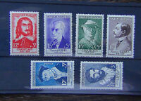 France 1956 National Relief Fund set MNH