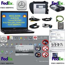 MB SET SD C4 + NEW XENTRY 2017/05 + DELL E5500  4GB  Mercedes Star DAS