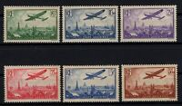 AX140795/ FRANCE / AIRMAIL / Y&T # 8 / 13 MINT MNH COMPLETE - CV 360 $