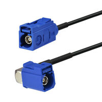 """Car GPS Antenna Adapter Extension Cable Fakra """"C"""" Female to Jack RA Pigtail 3m"""