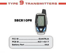 Prestige ELVATRJA 5BCR10P 2 Way Alarm Remote Control 5BCR1OP AI21 AL17 Audiovox