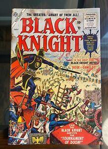 Black Knight #2 - Atlas Comics 1955 - Good