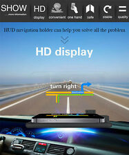 KFZ Auto HUD Head Up Display GPS Navigation Universal Handy Holder Ständer