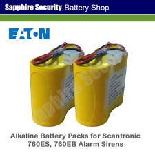 Scantronic Alkaline Battery Packs for 760ES, 760EB Alarm Sounders -SDR-R-BAT1