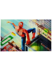 Spider-Man Disney Parks Hotel New York Debut Poster 2019 NYCC Exclusive