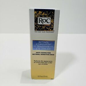 RoC Retinol Correxion Anti-Aging for Retinol-Sensitive Skin Eye Cream, 0.5 oz