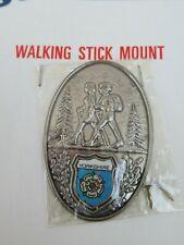 WALKING STICK BADGE / MOUNT / STOCKNAGEL SAMPSONS  YORKSHIRE