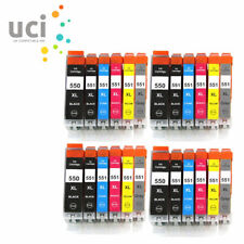 24 XL Ink Cartridges for Canon Pixma IP8750 MG6350 MG7150 MG7550 Include Grey