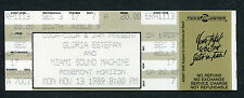 1989 Gloria Estefan unused full concert ticket Rosemont Cuts Both Ways