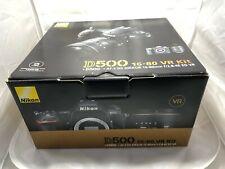 Nikon D500 + AF-S DX 16-80mm f/2.8-4E ED VR Kit plus battery grip