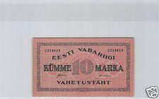ESTONIE 10 MARKA 1922 PICK 53a !!!!