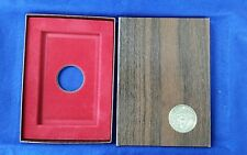 EISENHOWER PROOF BROWN BOX - No Coin