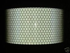 1M X 50MM ORAFOL HIGH INTENSITY REFLECTIVE TAPE SILVER SELF ADHESIVE VINYL HIVIZ