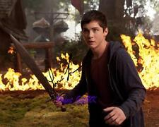 LOGAN LERMAN PERCY JACKSON SEA OF MONSTERS SIGNED 10X8 REPRO PHOTO PRINT WM