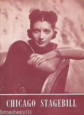 "Kay Francis ""WINDY HILL"" Leonard Bernstein 1946 FLOP Chicago Tryout Playbill"