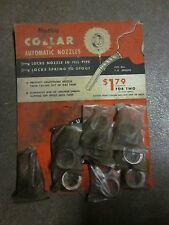 Vintage Husky Collar for automatic gas nozzles dealer display w collars.