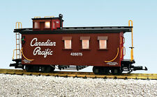 USA Trains G Scale Woodside Caboose R12023 Canadian Pacific