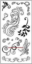 FISKARS Clear Stamps SWIRLS OF FUN Flourish Squiggles