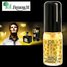 FREDERIC M Men Perfume Une Vie en OR Natural EDT Mini Parfum Fragrance Oil 0.5oz