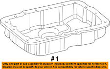 FORD OEM Automatic Transmission-Oil Pan 1L2Z7A194CA