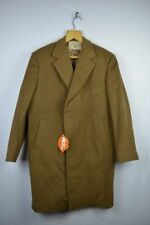 Collared Regular Size Wool Crombie Coats & Jackets for Men