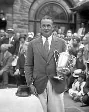 1929 Golfer BOBBY JONES Glossy 8x10 Photo Print US Open Trophy Poster