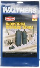 HO Scale Walthers Cornerstone 933-3514 Industrial Storage Tanks Kit