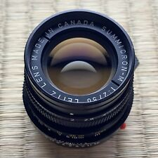 Leica 50 mm Summicron, Version 4, f2.0