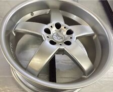 Hamann Hm2 19 X 8.5 ET 13 5:120 Silver Genuine Made In Germany One Wheel Only
