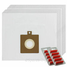 10 x Cloth Vacuum Bags For Electrolux Powerlite Z3318 U59 Hoover Bag + Fresh