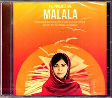He named me Malala Thomas Newman COLONNA SONORA CD loro diritto all'istruzione yousafza