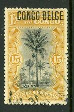 Belgian Congo 1908 Scott #33 VFU Y105
