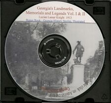 Georgia's Landmarks, Memorials and Legends, Vol. 1 & 2