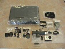New ListingGoPro Hero 3+ Silver Edition Action Camera Camcorder With Case /Accessories