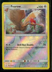Pokemon FEAROW 146/214 Unbroken Bonds Rev Holo - MINT