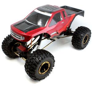 1/10 Electric RC Rock Crawler Redcat EVEREST-10 Red/Black, New Redcat Crawler
