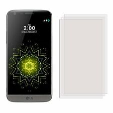 3 New Clear Anti-scratch Screen Protectors Cover Shield Film Guard For LG G5