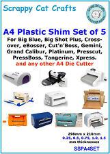 A4 X .5 mm Magnétique Shim ssmaga 4.5 pack de 3 pour Big Blue by Scrappy Cat