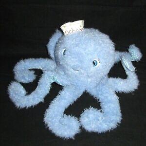 Bunnies By the Bay Ocho Octopus Blue Plush Soft Stuffed Animal Toy