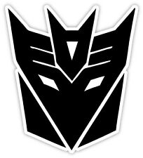 "Transformers Decepticon Decepticons sticker decal 4"" x 4"""